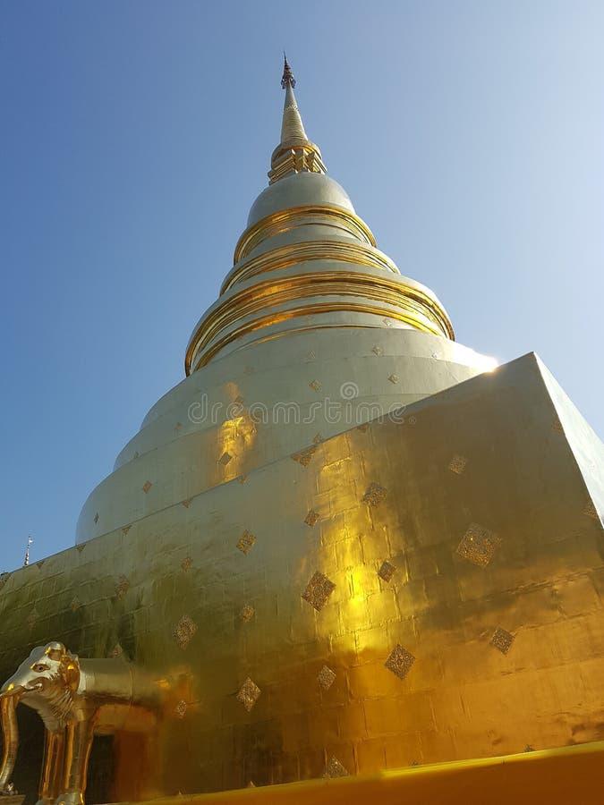 Wat Phasingh royalty free stock photos
