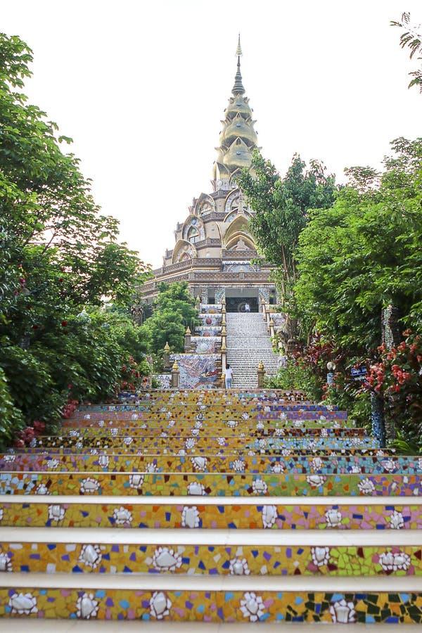 Wat Phasornkaew 免版税库存照片