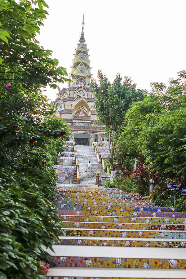 Wat Phasornkaew 图库摄影