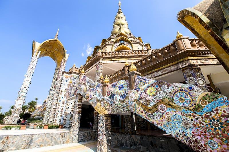 Wat Phasornkaew 库存照片