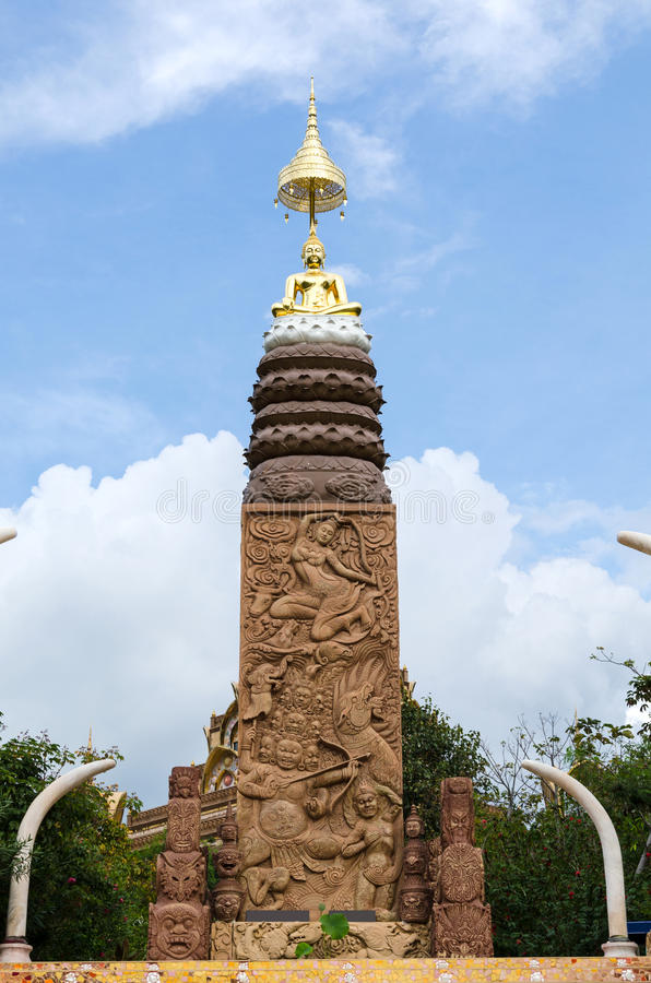 Wat Phasornkaew, Phetchabun, Thailand stock photo