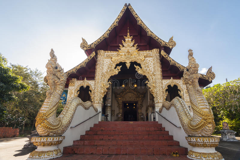 Wat Phaya Wat, Nan, Thaïlande photographie stock libre de droits