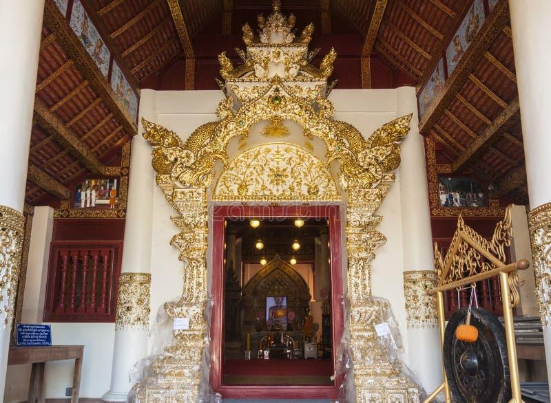 Wat Phaya Wat, Nan, Thaïlande photos libres de droits