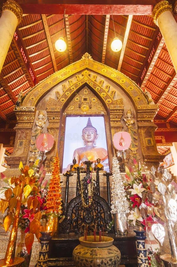 Wat Phaya Wat, Nan, Thaïlande images stock