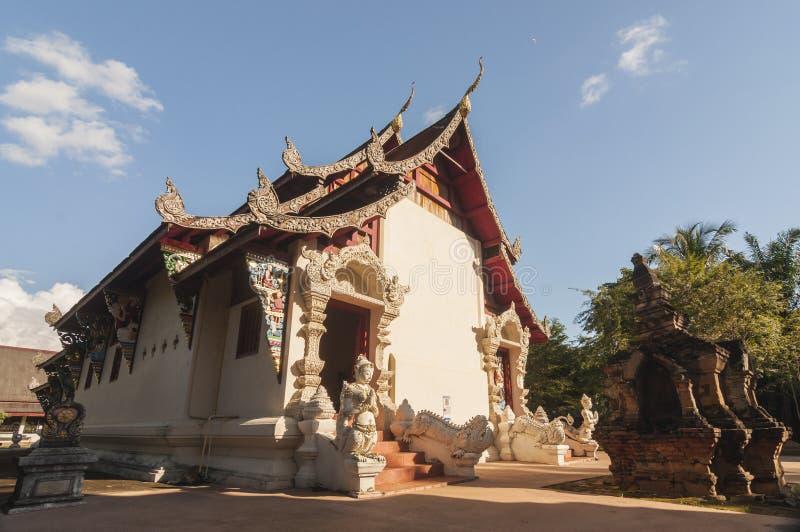 Wat Phaya Wat, Nan, Thaïlande images libres de droits