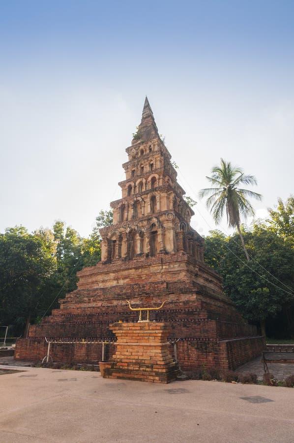 Wat Phaya Wat, Nan, Thaïlande photo libre de droits