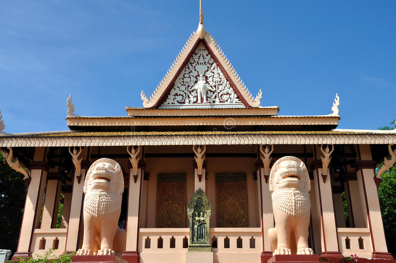 Download Wat Phnom,Cambodia stock photo. Image of site, city, photographs - 28934164