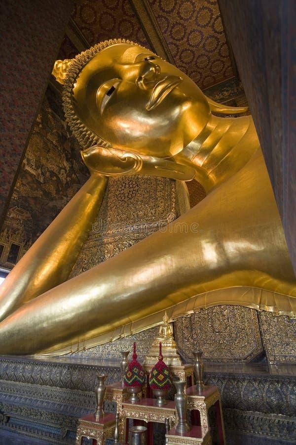 Wat Pho à Bangkok. La Thaïlande images libres de droits