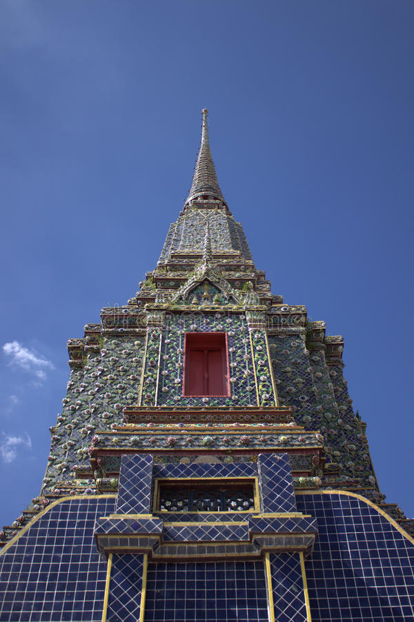 Wat Pho è un tempiale buddista nel distretto di Phra Nakhon, Bangkok, Tailandia immagini stock libere da diritti