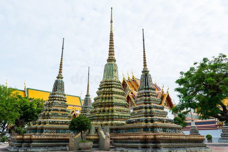 Wat Pho στη Μπανγκόκ της Ταϊλάνδης στοκ φωτογραφία