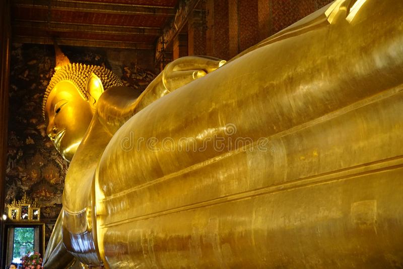 Wat Pho στη Μπανγκόκ @thailand στοκ εικόνα