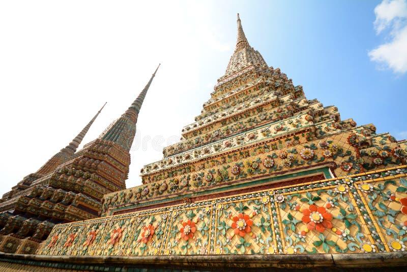 Wat Pho fotografie stock libere da diritti