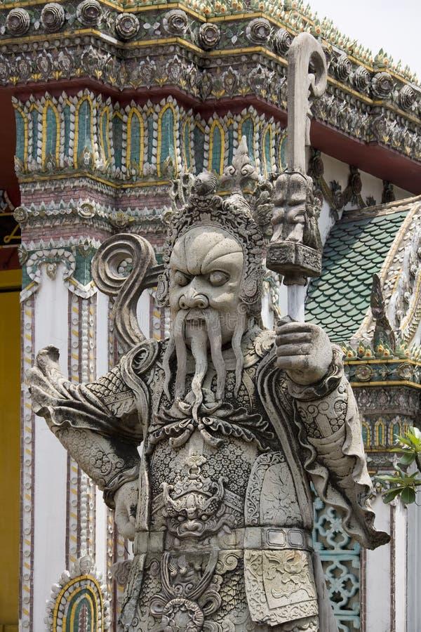 Wat Pho in Bangkok - Thailand stockfotografie