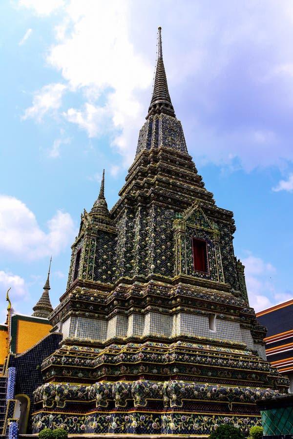 Wat pho Bangkok Thailand royaltyfri foto