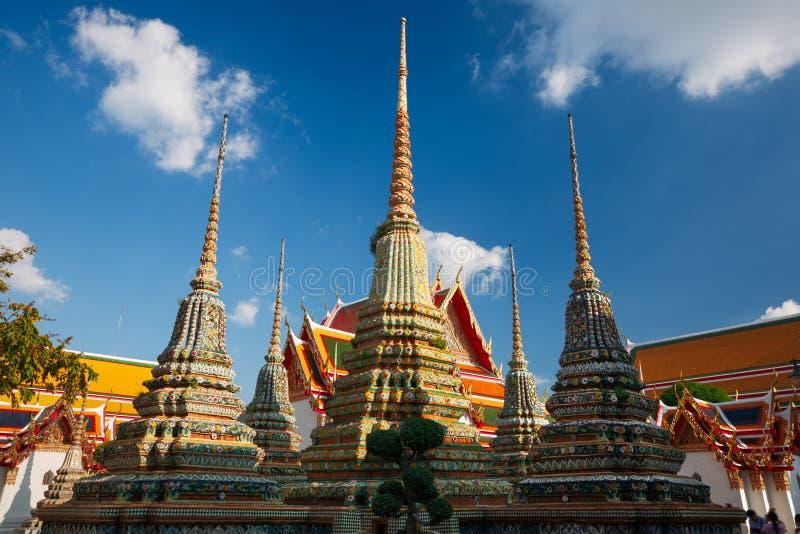 Wat Pho in Bangkok, Thailand lizenzfreie stockbilder