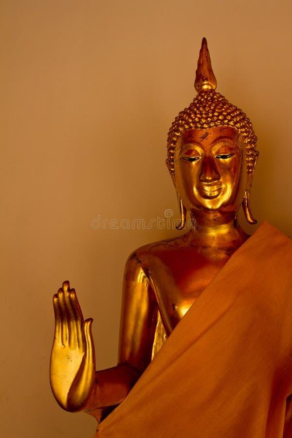 Wat Pho Buddha Statue Bangkok, Thailand royaltyfri foto