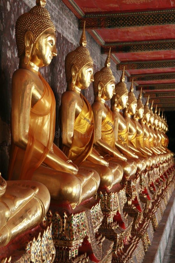 Wat Pho em Banguecoque fotografia de stock royalty free