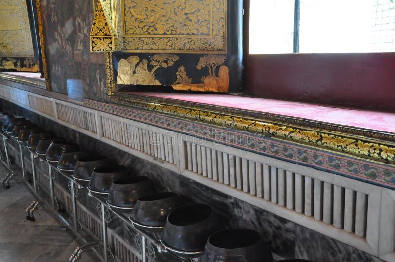 Wat Pho en Bangkok, Tailandia foto de archivo libre de regalías