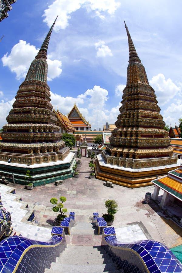 Wat Pho en Thaïlande images libres de droits