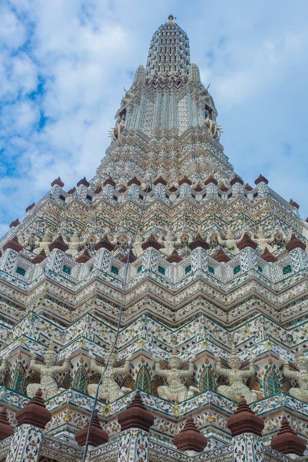 Wat Pho jest Buddyjskim templebangkok kapitałem tailandid fotografia royalty free