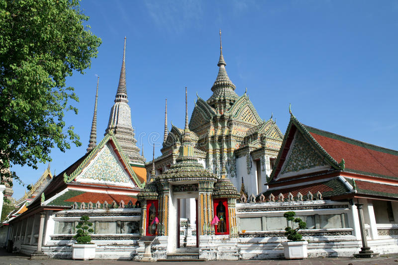 Wat Pho is located in Thailand royalty free stock image