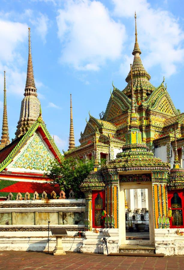 Wat Pho Tempel stockbilder