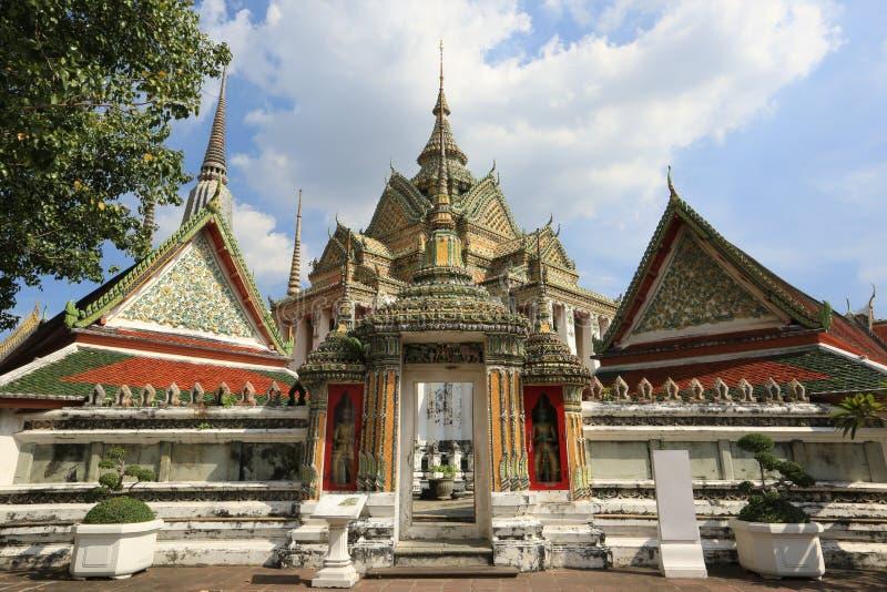 Wat Pho Tempel, Bangkok, Thailand stockbilder