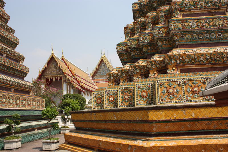 Wat Pho Temple - Bangkok royalty free stock photos