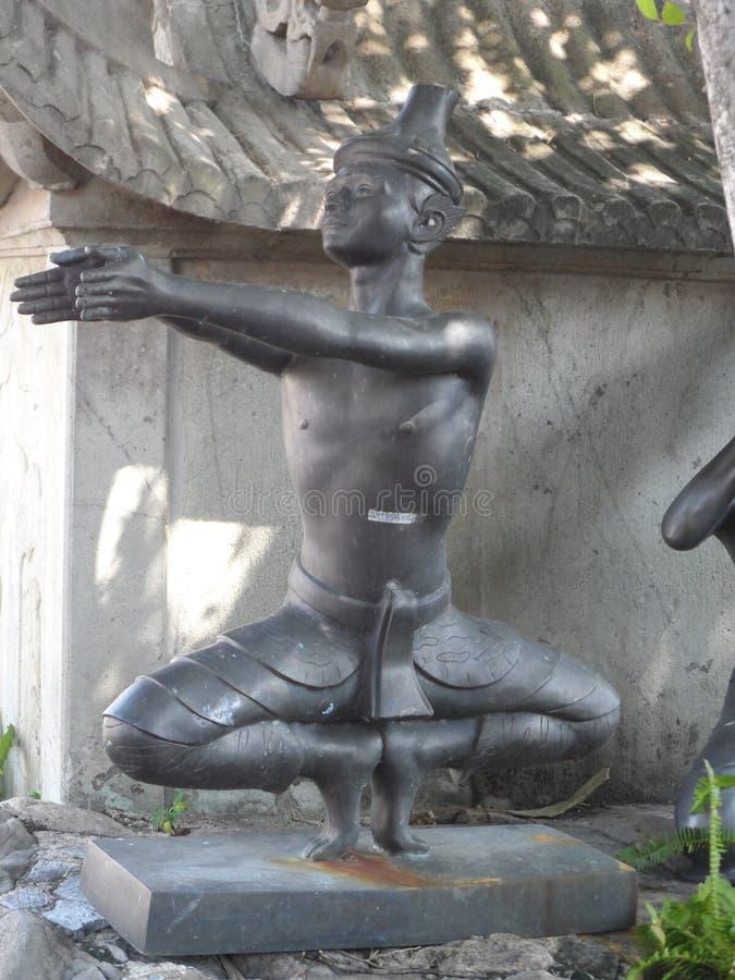 Wat Pho Thai Massage School servicemitt arkivfoto