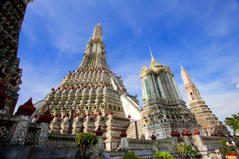 Download Wat Pho in Thailand stock photo. Image of architecture - 16401360