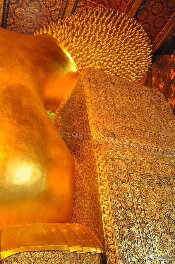 Wat Pho w Bangkok, Tajlandia obrazy royalty free