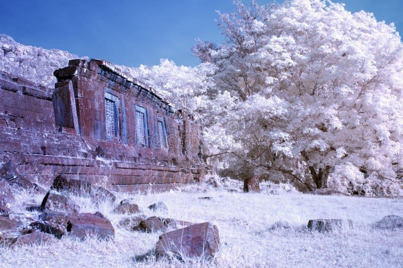 Wat Phou, Champasak, Laos zdjęcie stock
