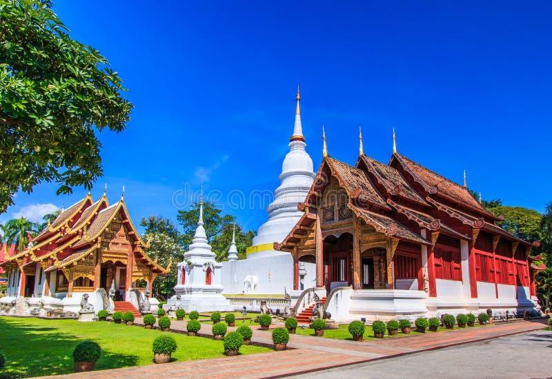 Wat Phra唱歌 免版税库存照片
