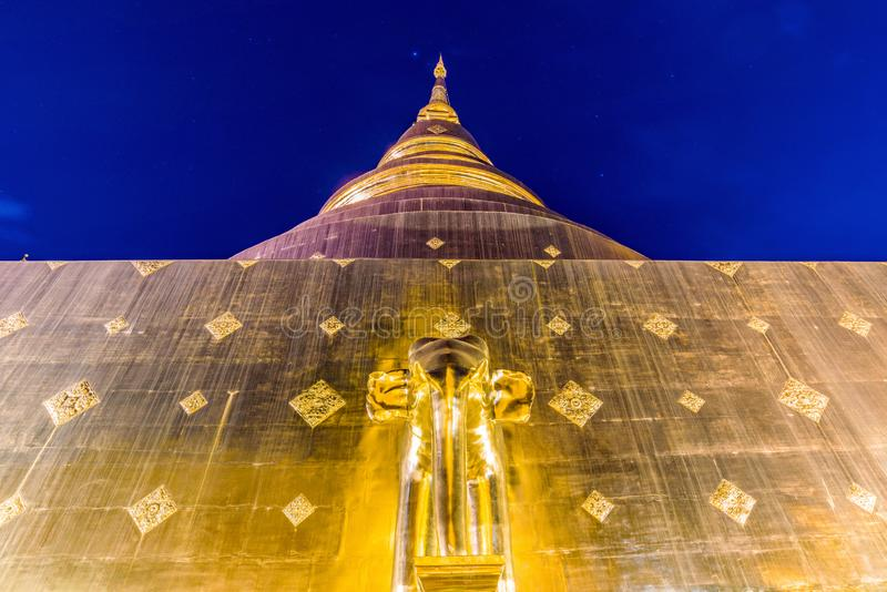 Wat Phra唱歌 免版税图库摄影