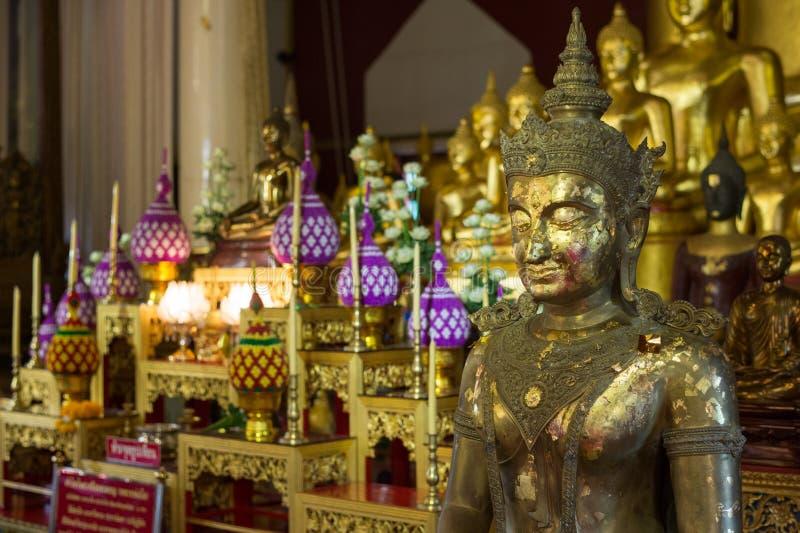 Wat phra辛哈在清迈 库存照片