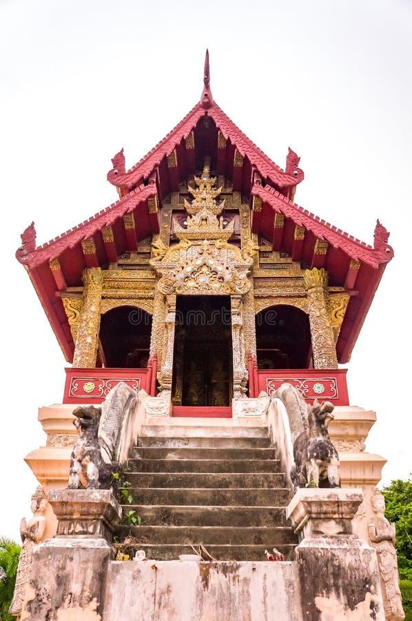 Wat Phra辛哈寺庙 库存照片