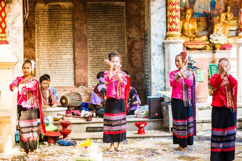 Wat Phra那土井素贴 免版税库存照片
