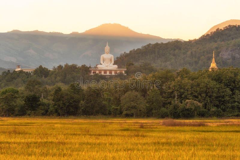 Wat Phra которое Doi Lon природы, Tak Таиланда стоковое изображение