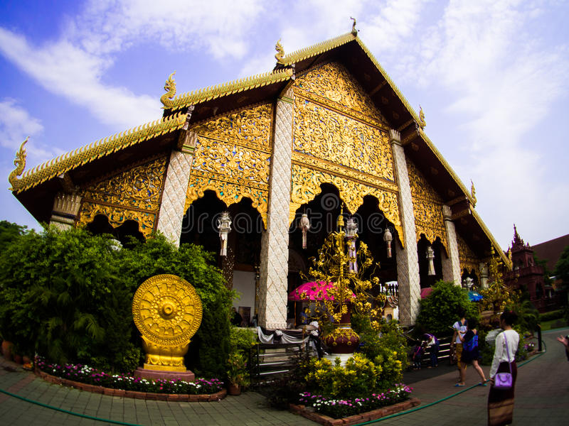 Wat Phra которое Lampang Luang, Lampang, Таиланд стоковое изображение rf