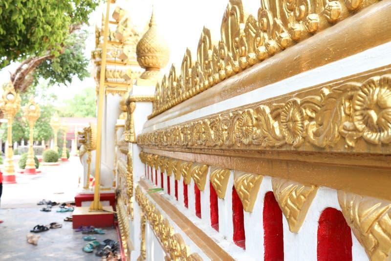 Wat Phra которое Phanom стоковая фотография