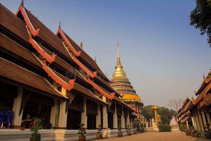 Wat Phra тот висок Lampang стоковые фото