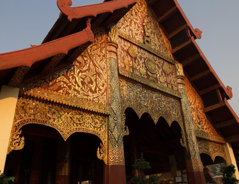 Wat Phra тот висок Lampang стоковое изображение