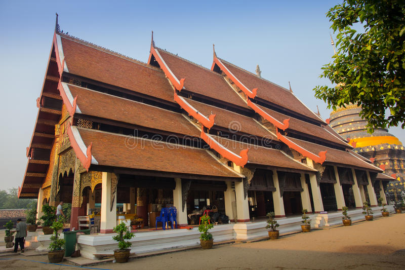 Wat Phra тот висок Lampang стоковое фото rf