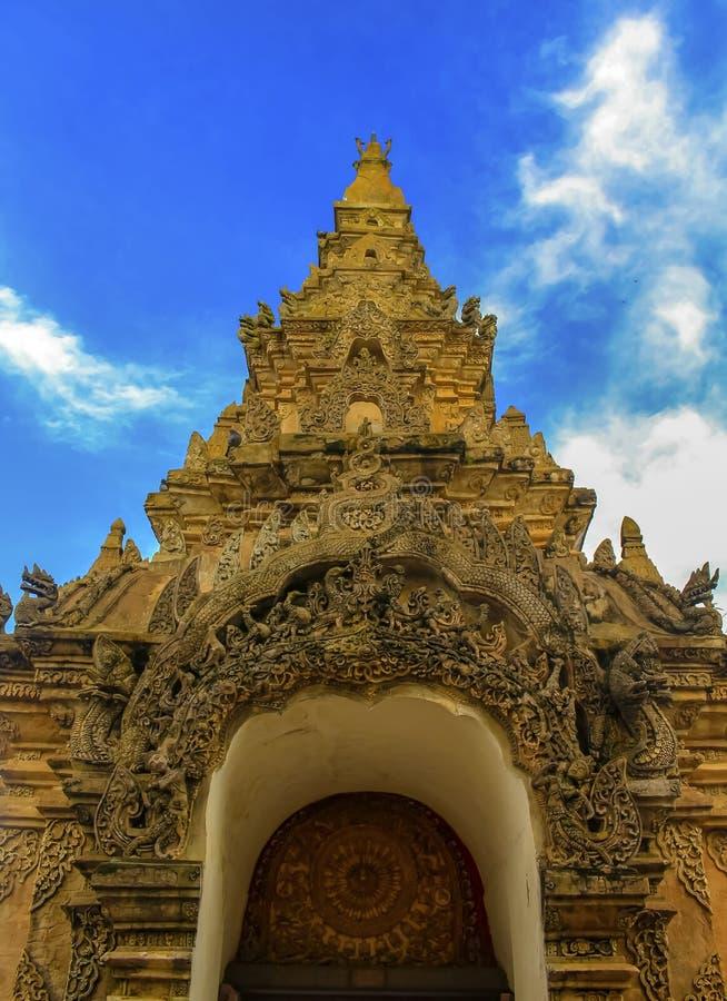 Wat Phra то Luang Lampang стоковые изображения