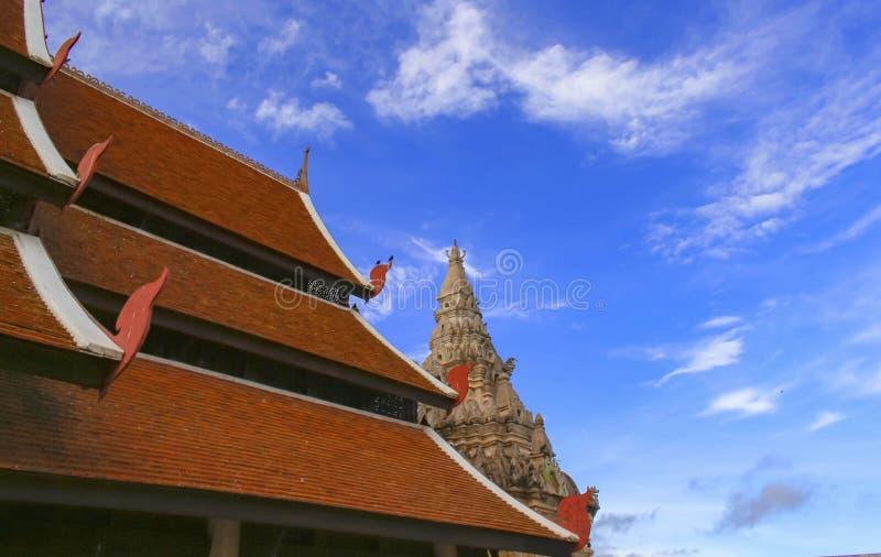 Wat Phra то Luang Lampang стоковые фотографии rf