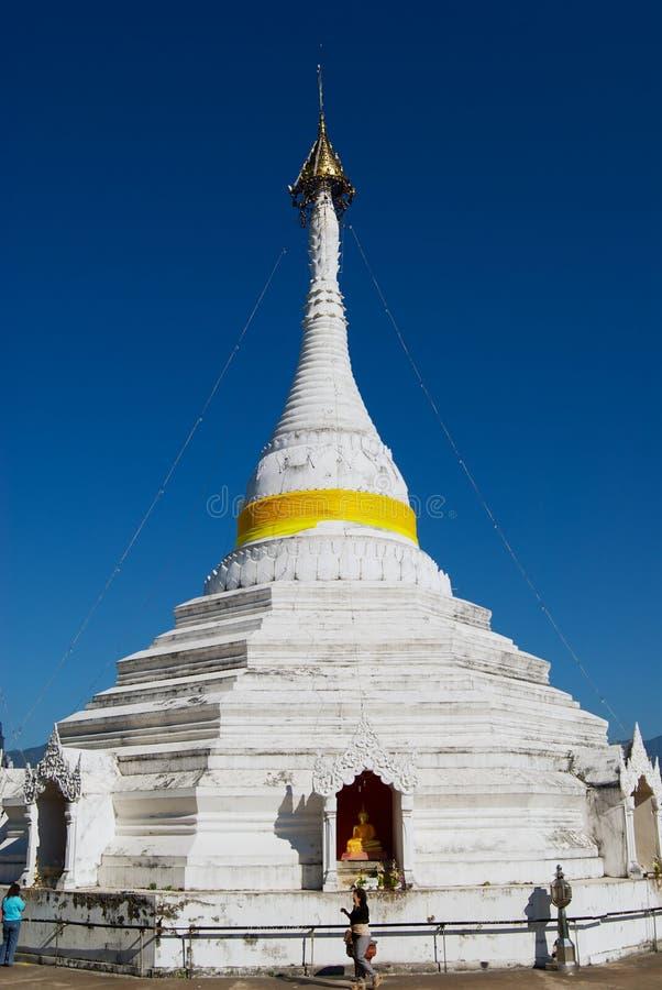 Wat Phra что висок Doi Kong Mu в Mae Hong Son, Таиланде стоковое фото rf