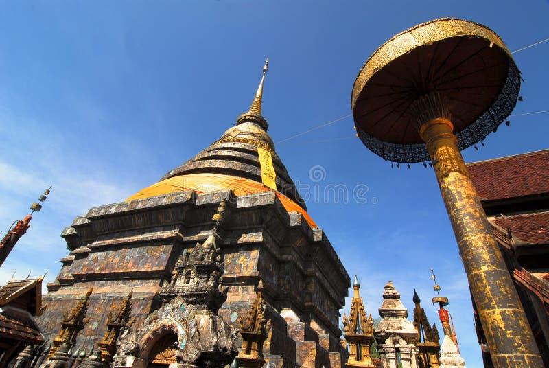 Wat Phra That imagenes de archivo