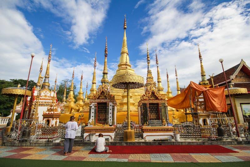 Wat Phra Borommathat Bantak, провинция Tak, Таиланд стоковая фотография
