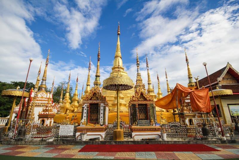 Wat Phra Borommathat Bantak, провинция Tak, Таиланд стоковые изображения