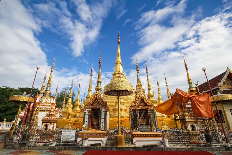 Wat Phra Borommathat Bantak, провинция Tak, Таиланд стоковое изображение